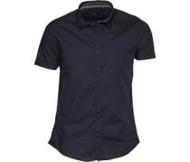 Herren Mombassa Hemd mit langem Arm Navy