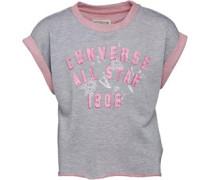 Converse Mädchen less Vintage Sweatshirt Grau