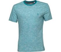 Original Penguin Mens Slub T-Shirt Mosaic Blue