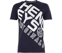 Henleys Herren Ara T-Shirt Navy/Weiß