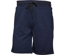 JACK AND JONES Herren Quilt Shorts Blau