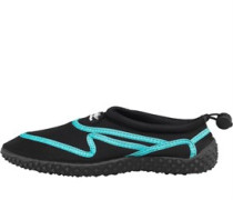 Ladies  Aqua Shoes Black/Aqua