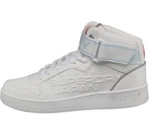Damen Basket High Sneakers Weiß