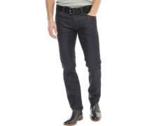 Herren Wayne Jeans in Slim Passform Dunkelblau