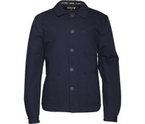 Lyle And Scott Vintage Herren Fale Quilted Lined Workwear Steppjacke Blau