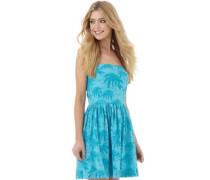 Superdry Damen Palm Summer Kleid Blau