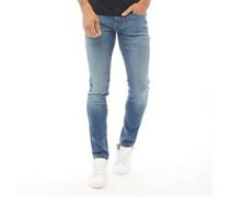 Denim Jeans in Slim Passform Stonewash