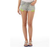 Damen Embellished Hot Soft Lux Hotpants Grau
