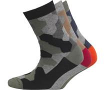 Jungen 3 Pack Socken Mehrfarbig