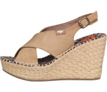 Rocket Dog Damen Rue Coast Sand Wedge Sandalen Ecru