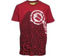 Jungen Pillar of Ds T-Shirt Rot