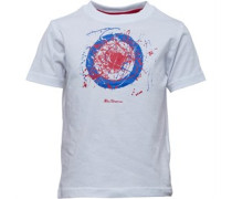 Jungen T-Shirt Optic White