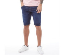 Warsaw Laker 407 Denim Shorts Dunkel