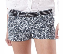 Damen Printed International Hot Shorts Navy