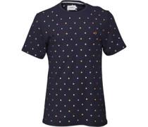 Farah Vintage Herren Chantry T-Shirt Blau