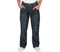 Herren port Jeans in regulär Passform Blau