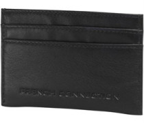 French Connection Herren Premium Cardholder Brieftasche Schwarz