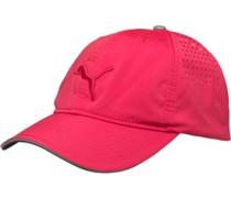 Puma Mens Power Vent Running Cap Rose Red