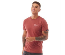 Brennick T-Shirt Rostrot