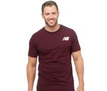 Herren Logo Graphic T-Shirt Burgunderrot