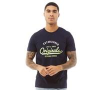 Gecko T-Shirt Dunkelnavy