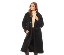 Tasmin Maxi Faux Fur Mantel