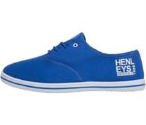 Herren Stash Plimsolls Freizeit Schuhe Blau