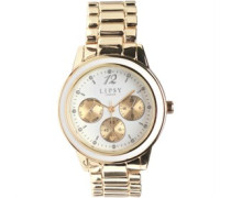 Damen Chrono Detail Armbanduhr Gold