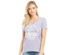 Venice Burn Out T-Shirt Flieder
