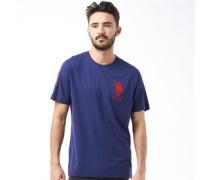 U.S. POLO ASSN. Herren Abbott T-Shirt Blau