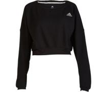 adidas Damen Sequencials Cozy Sweatshirt Schwarz