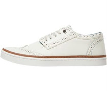Ted Baker Mens Livor Leaher Brogue Detail Trainers White