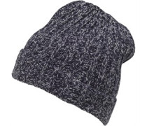 Twist Yarn Beanie Mütze Navy