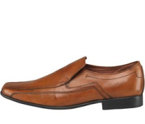 Onfire Mens Slip On Leather Shoe Tan
