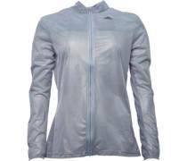adidas Womens Adizero Ghost Climaproof Running Jacket Grey