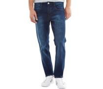 Herren Holden Jeans in Slim Passform Mittelblau