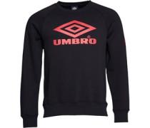Umbro Herren Pro Classic Sweatshirt Schwarz