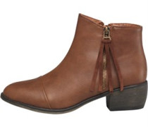 Board Angels Damen Tan Stiefel Braun