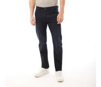 Jeans mit geradem Bein  Schwarz