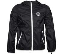 Converse Mens Core Lightweight Hooded Jacket Converse Black