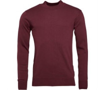 Bravesoul Mens Turtle Neck Jumper Elderberry