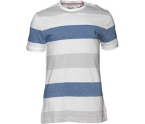 Original Penguin Herren Birdseye Colour Block T-Shirt Gestreift