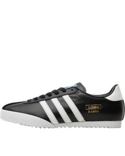 adidas Herren Bamba Sneakers Schwarz