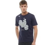 Scooter T-Shirt Navy