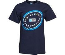Canterbury Herren 2 Nations Event Graphic T-Shirt Blau
