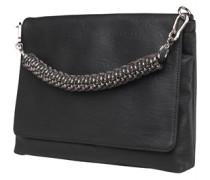 Little Mistress Womens Foldover Bag Black