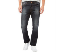 Herren Deadly2 Original Fit Jeans mit geradem Bein Dark Wash
