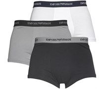 Emporio Armani Herren 3er Pack Trunks Multi