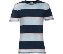 Herren Taunton River Indigo Sailors T-Shirt Hellblau