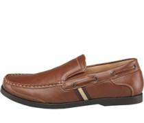 Herren Schuhe Mittelbraun